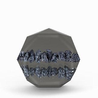 Raw Carbonados black diamonds Award