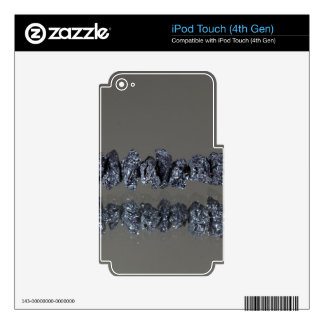 Raw Carbonados black diamonds iPod Touch 4G Decal