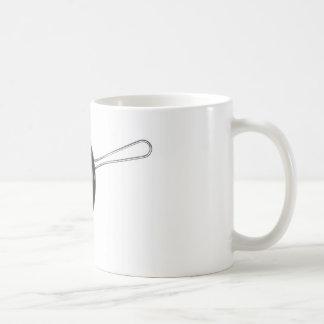 Raw chicken egg coffee mug