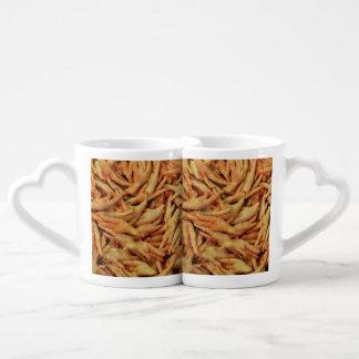 Raw Chicken Feet Coffee Mug Set