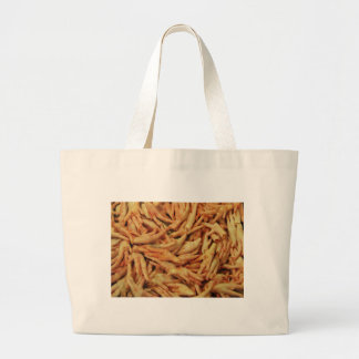 Raw Chicken Feet Large Tote Bag