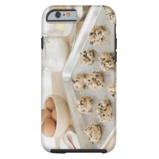 Raw cookies on baking tray tough iPhone 6 case