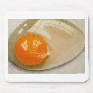 RAW EGG REALISM ARTWORK MOUSE PAD