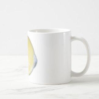 raw egg yolk coffee mug