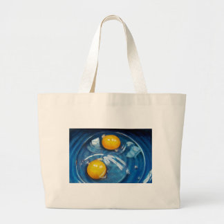 RAW EGGS IN BLUE BOWL BAGS