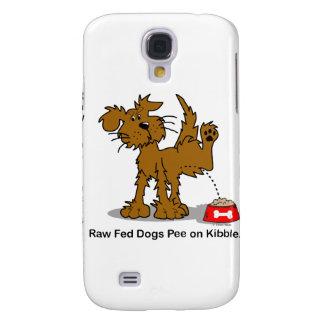Raw Fed Dogs Pee on Kibble Galaxy S4 Case