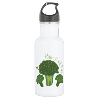 Raw Food Diet 18oz Water Bottle
