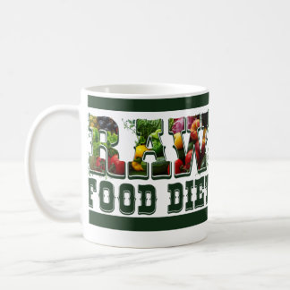 Raw Food Diet, Detox While You Stay Awesome Classic White Coffee Mug
