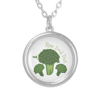 Raw Food Diet Personalized Necklace