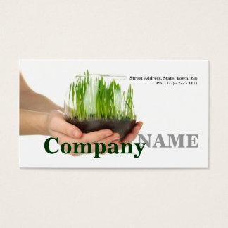 Raw Food Green Healthy Life Vegetarian Card