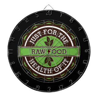 Raw Food Just For the Health of It Dart Boards