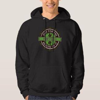 Raw Food Just For the Health of It Hooded Sweatshirt