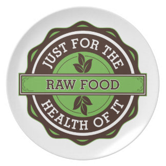 Raw Food Just For the Health of It Plate