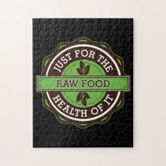 Raw Food Just For the Health of It Jigsaw Puzzles