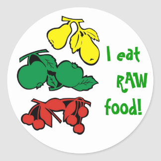 Raw Food Sticker