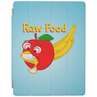 Raw Foods Food Fight Apple Verses Banana iPad Cover