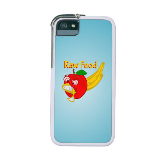 Raw Foods Food Fight Apple Verses Banana iPhone 5/5S Case