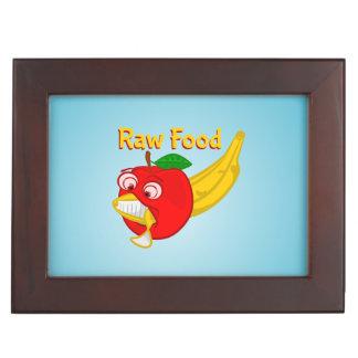 Raw Foods Food Fight Apple Verses Banana Memory Box