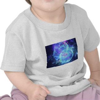 raw fractal art t-shirt