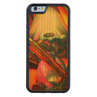 Raw Fury Abstract Carved Cherry iPhone 6 Bumper Case