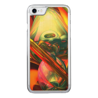 Raw Fury Abstract Carved iPhone 7 Case
