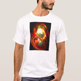 Raw Fury Painted Abstract T-Shirt