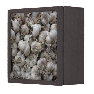 Raw Garlic Seasoning Healthy Food Wallpaper Gift Box