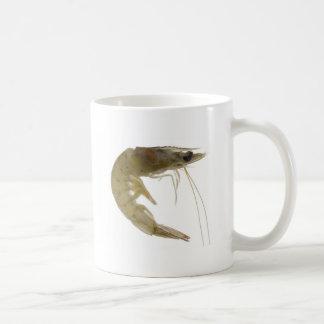 Raw grey prawn coffee mug