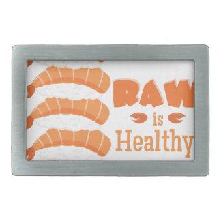 Raw Healthy Belt Buckle