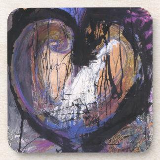Raw Heart Coaster