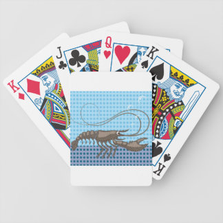 Raw Lobster vector Bicycle Playing Cards