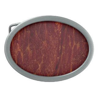 Raw meat belt buckle