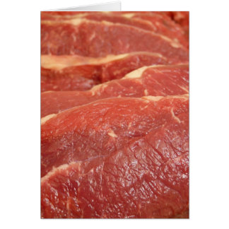 Raw Meat Card