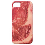 Raw Meat Ribeye Steak Texture iPhone 5 Covers