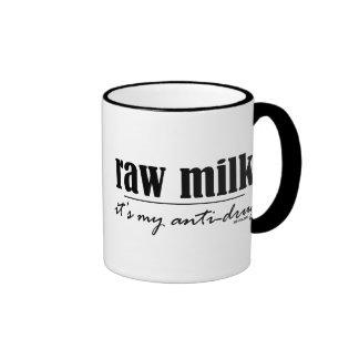 Raw Milk Antidrug Ringer Coffee Mug