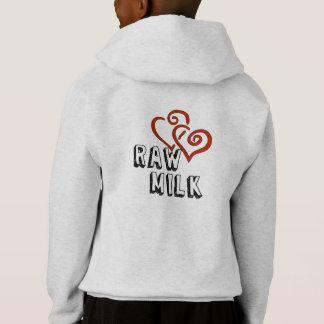 Raw Milk Love Hoodie