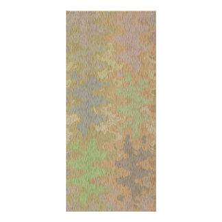 Raw Oak Bark & Rare Earth Color Sprinkle Rack Card