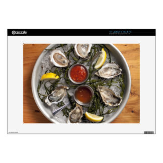 """Raw oysters arranged skin for 15"""" laptop"""