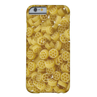 Raw pasta background barely there iPhone 6 case