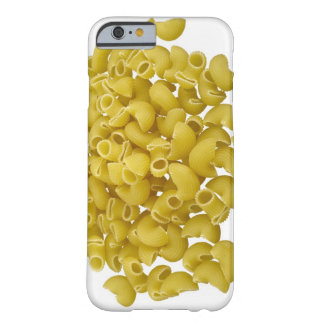 Raw pasta isolated on white background barely there iPhone 6 case