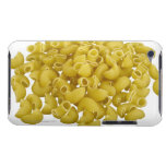 Raw pasta isolated on white background barely there iPod case