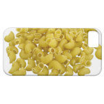 Raw pasta isolated on white background iPhone 5 cover