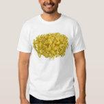 Raw pasta isolated on white background t-shirt