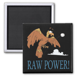 Raw Power 2 Inch Square Magnet