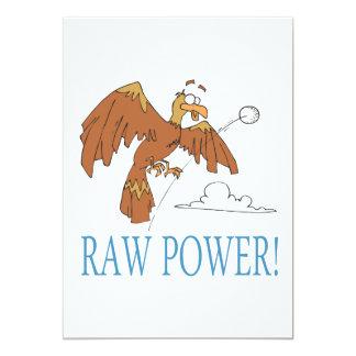 Raw Power Card