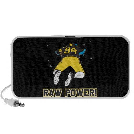 Raw Power iPhone Speakers