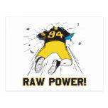Raw Power Postcard