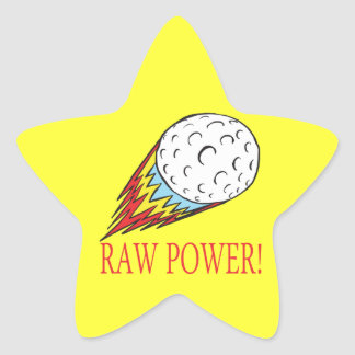 Raw Power Star Sticker