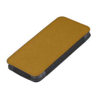 Raw Sienna colored iPhone 5 Pouch