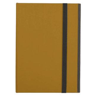 Raw Sienna colored iPad Air Cover
